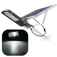 24W Solar Powered LED COB Light-controlled Sensor Street Road Light Waterproof for Outdoor Garden