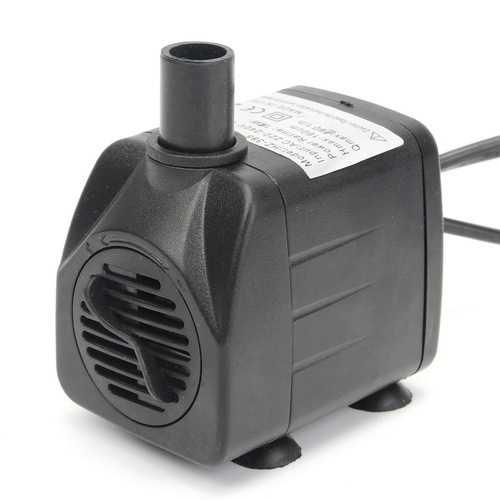 220V 50Hz/60Hz 420L/h LED Light Submersible Water Pump Aquariums Fish Pond Fountain Sump Waterfall