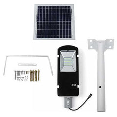 20W 40LED 600LM Solar Powered Light Sensor Street Light with Rmote Control Waterproof Outdoor Light