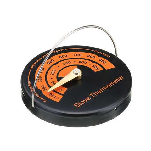 0-500?? Magnetic Type Stove Thermometer Flue Pipe Wood Burner Solid Fuel Temperature Gauge