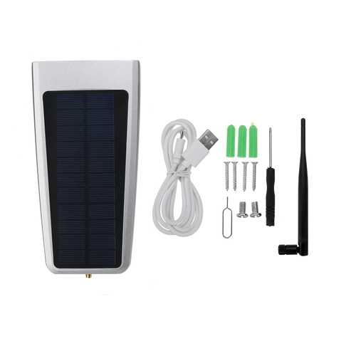 Solar Outdoor HD Night Vision Mobile Phone WiFi Network Surveillance Camera System