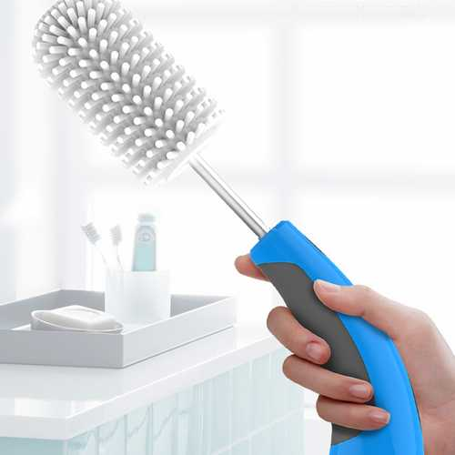 Qianfeng 220V 2.4W 350r/min Electric Cleaning Brushes Rechargable Household Handheld Brush Cleaner