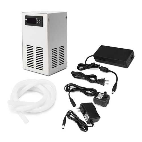 AC110-240V LCD Display Water Chiller Cooling Device Fish Tank Constant Temperature Cooling Equipment
