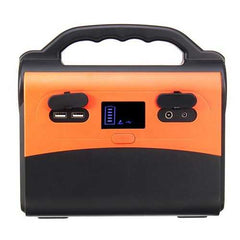 Peaks 300W 50000mAh Inverter Portable Solar Generator Modified Sine Wave Power Supply USB LCD Display Energy Storage for Home Outdoor