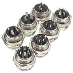 M16 2/3/4/5/6/7/8 Pin Screw Type Electrical Aviation Plug Socket Connector Aviation Connector Plug
