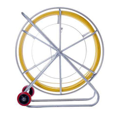 8mm 150M Fish Tape Fiberglass Wire Cable Running Rod Duct Rodder Fishtape Fiberglass Cable Puller