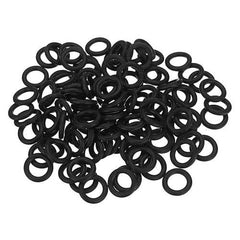 100Pcs Black Silicone Rubber Tattoo Machine Damping O-Rings Sealing Washer Assortment Ring Grommets