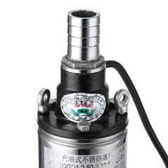 220V Submersible Deep Well Pump Submersible Pump 1/2 0.5 HP Bore with Control Box
