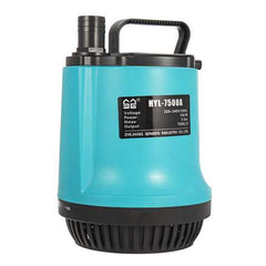 SUNSUN 7500L/H Submersible Water Pump Garden Swimming Pool Dirty Pond Flood Drain 150W