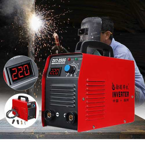 ZX7-250G IGBT Portable 200AMP 60W Welding Inverter Machine MMA/ARC