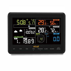 Misol-WH-2950-1 Gardening Wireless Weather Station Digital Thermometer Clock WIFI Connection