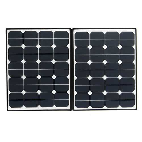 Elfeland EL-33 80W Flexible Solar Panel Waterproof Folding Panel With one-to-two MC4 Connector