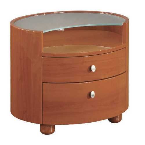 "20"" Sophisticated Cherry High Gloss Nightstand"