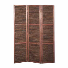 "47"" x 1.5"" x 67"" Brown, Wood, Bambusa - Screen"