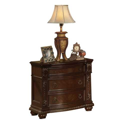 "20"" X 35"" X 32"" Cherry Wood Nightstand (No Marble Top)"