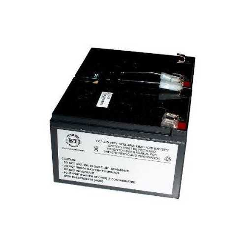 REPLACEMENT UPS BATTERY FOR APC RBC6