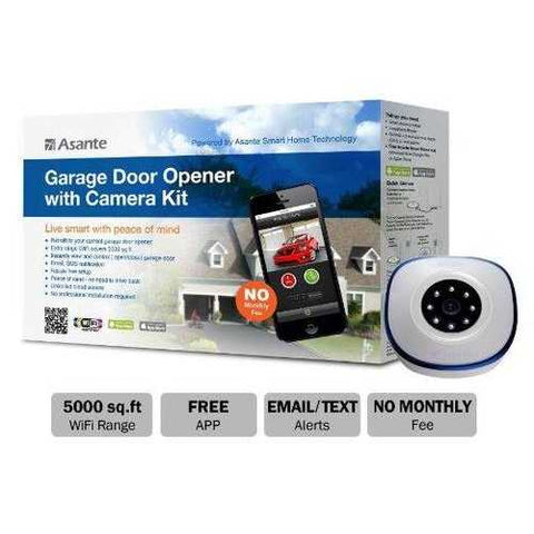 GARAGE DOOR OPENER WITH CAMERA KIT