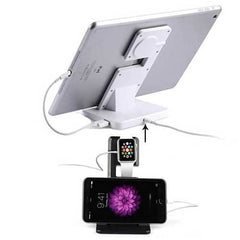 NEW Apple iWatch and iPhone and iPad a Dual Charging Stand