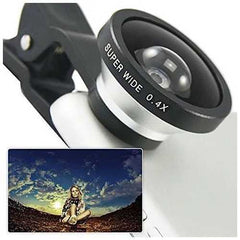 SUPER WIDE Clip and Snap Lens for iPhone and any Smartphone