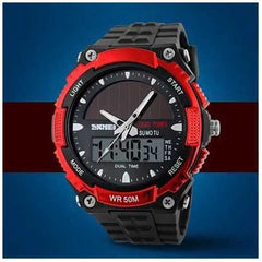 Sundial Solar Powered Sports Wrist Watch