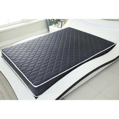 "6"" Navy Blue Twin Foam Mattress Covered in a Stylish Water-resistant  Fabric"