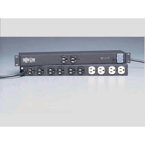 ISOBAR SURGE PROTECTOR RACKMOUNT METAL 12 OUTLET 15FEET  CORD 1U RM