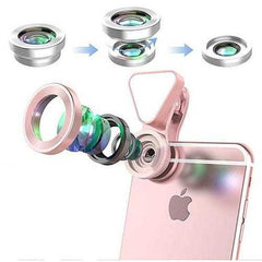 Glow Face 3 In 1 Photo Lens And Fill Lighting Clip