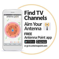 Antennas Direct FUSION ClearStream FUSION Amplified UHF/VHF Indoor/Outdoor HDTV Antenna with 20-Inch Mast