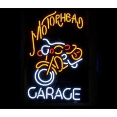 Motorhead Garage Neon Bar Sign