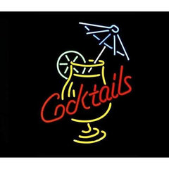 Cocktails Neon Bar Sign