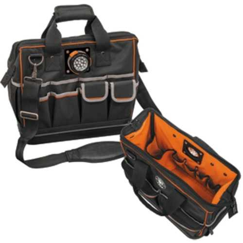 Klein Tools Tradesman Pro Organizer Lighted Tool Bag