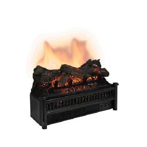 CG Electric Log Set w Heater