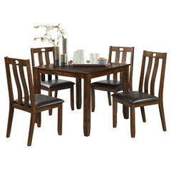 5-Piece Wood Dining Table Set