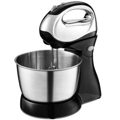 200 W 5-speed Stand Mixer with Dough Hooks Beaters