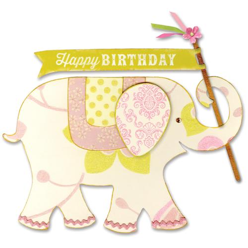 Sizzix Favorite Things Collection Bigz L Die Elephant