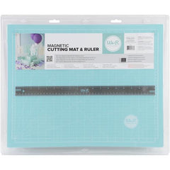 Crafters 14 x 18 Inch Magnetic Mat and 18 Inch Magnetic Ruler