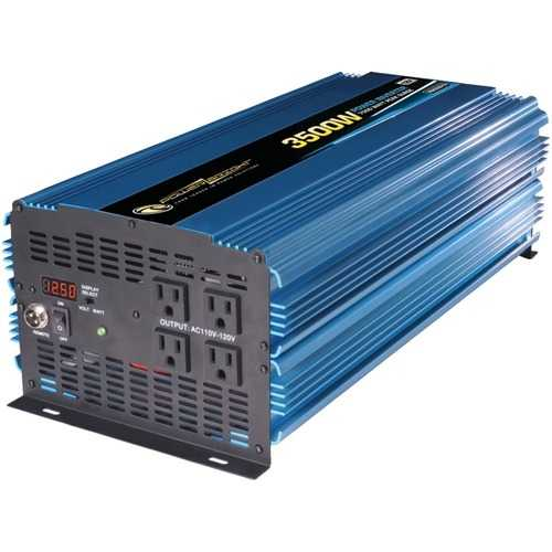 PowerBright PW3500-12 12-Volt Modified Sine Wave Inverter (3,500 Watts)