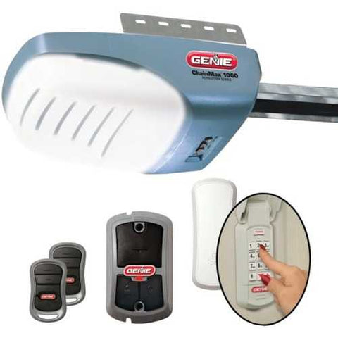 Genie 37280U Garage Door Opener with 3/4 HPc DC Chain