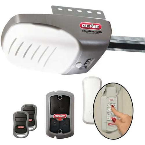 Genie 37281V Garage Door Opener with 3/4+ HPc DC Chain