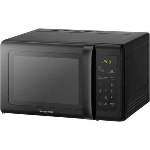 Magic Chef MCD993B .9 Cubic-ft Countertop Microwave (Black)