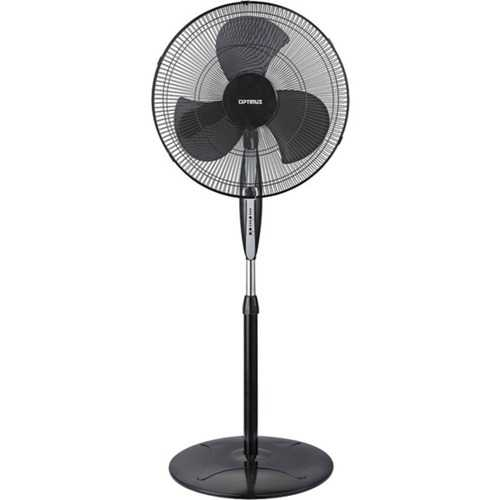 "Optimus F-1872BK 18"" Oscillating Stand Fan with Remote"