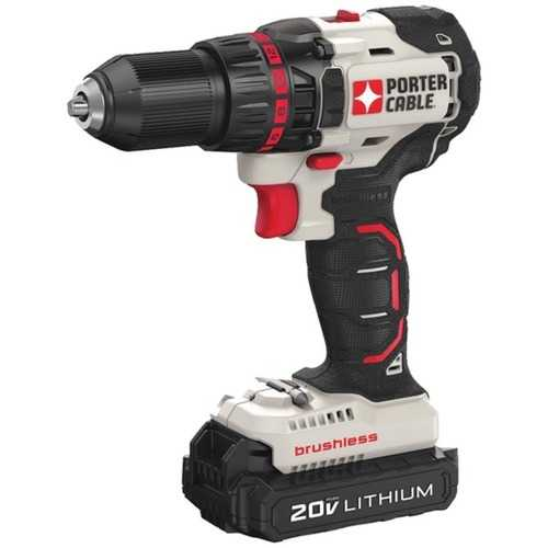 PORTER-CABLE PCC608LB 20-Volt MAX* Compact Cordless and Brushless Drill