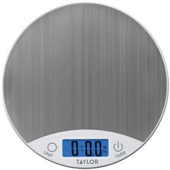 Taylor Precision Products 389621 Stainless Steel Digital Kitchen Scale