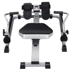 Exercise Adjustable Double Hydraulic Resistance Rowing Machine