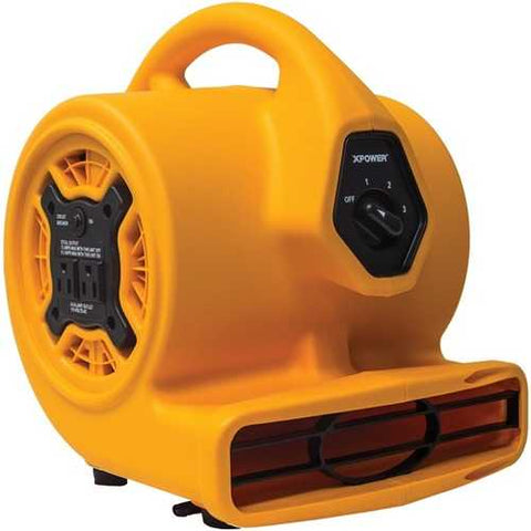 XPOWER P-130A P-130A Compact Air Mover with Daisy Chain