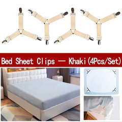 4Pcs/Set Bed Sheet Holder Straps