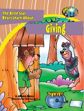 Load image into Gallery viewer, The Brite Star Bears Learn About Giving