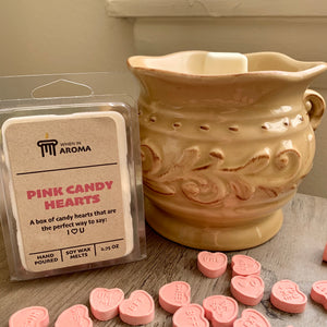 Pink Candy Hearts Soy Wax Melt