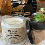 11 oz Dark Linen Soy Candle