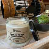11 oz Coffee Shop Soy Candle
